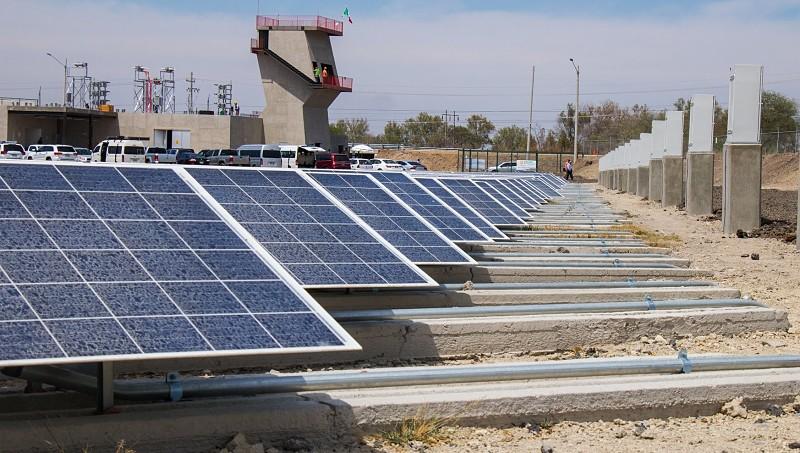 Datos de energía de solar en México