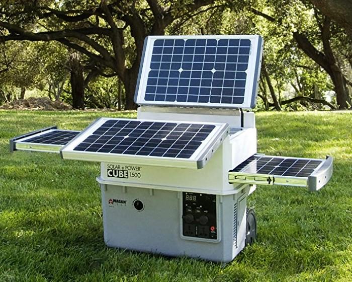 Generador de energía solar