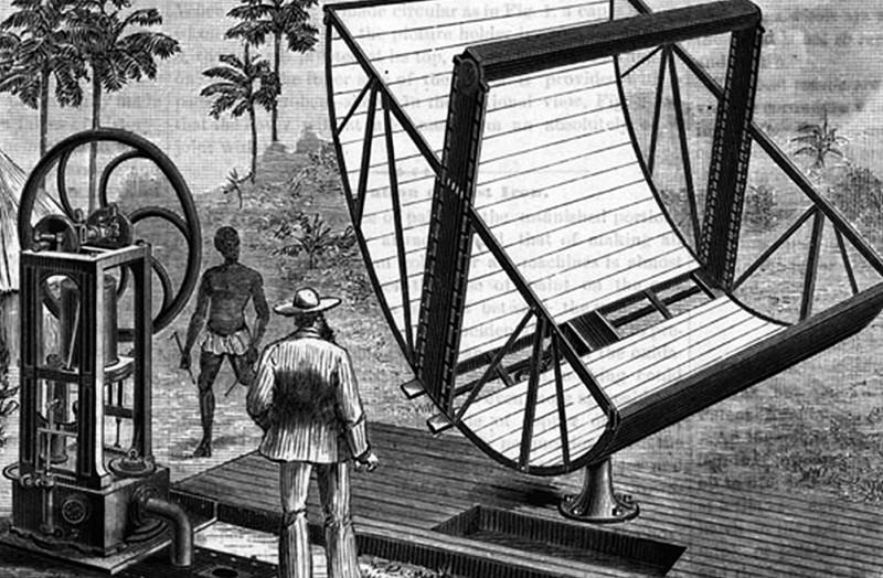 Historia de la energía solar y antecedentes