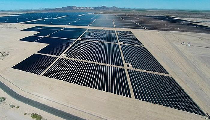 Plantas energía solar en USA Desert Sunlight
