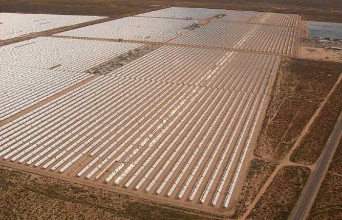 Plantas energía solar en USA SEGS