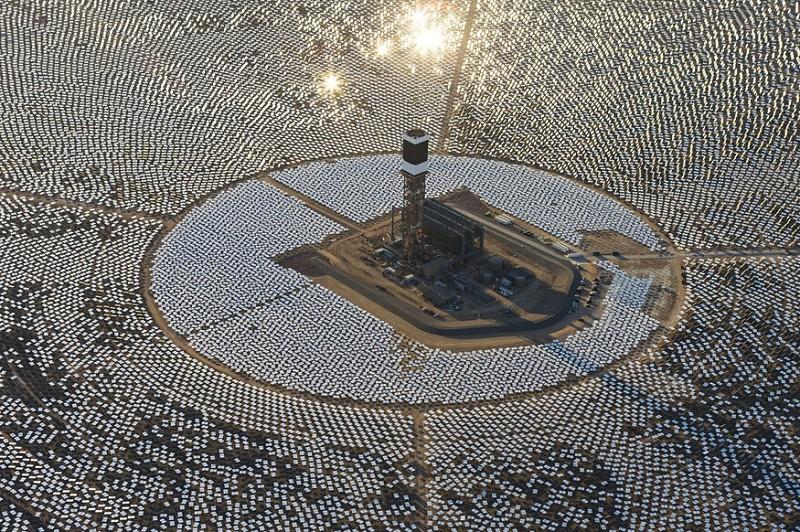 Plantas energía solar en USA