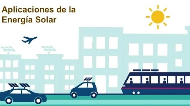 Aplicaciones de la energía solar