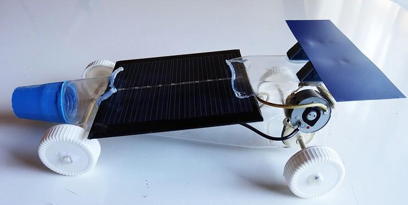 Experimentos de energía solar