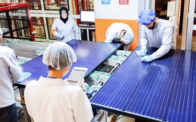 Potencia mundial instalada en paneles solares