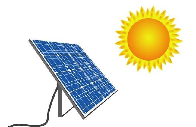 Transformación de la energía solar a eléctrica