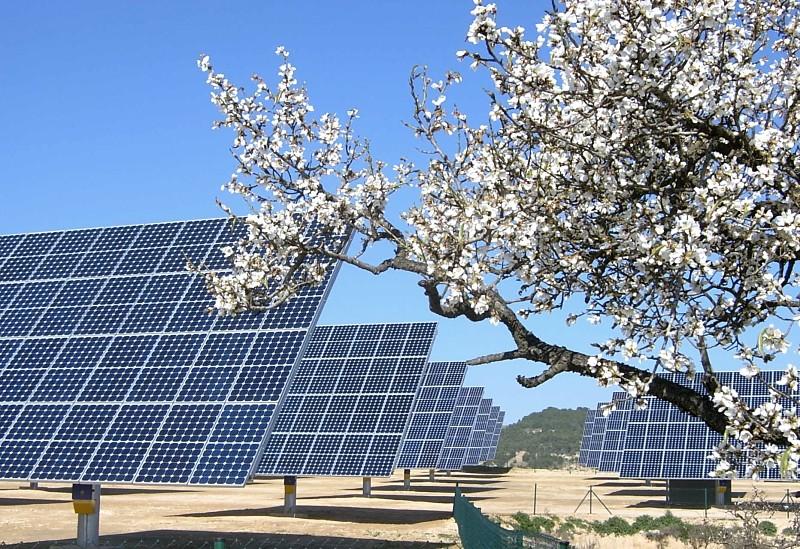 Energía alternativa solar como medio de vida